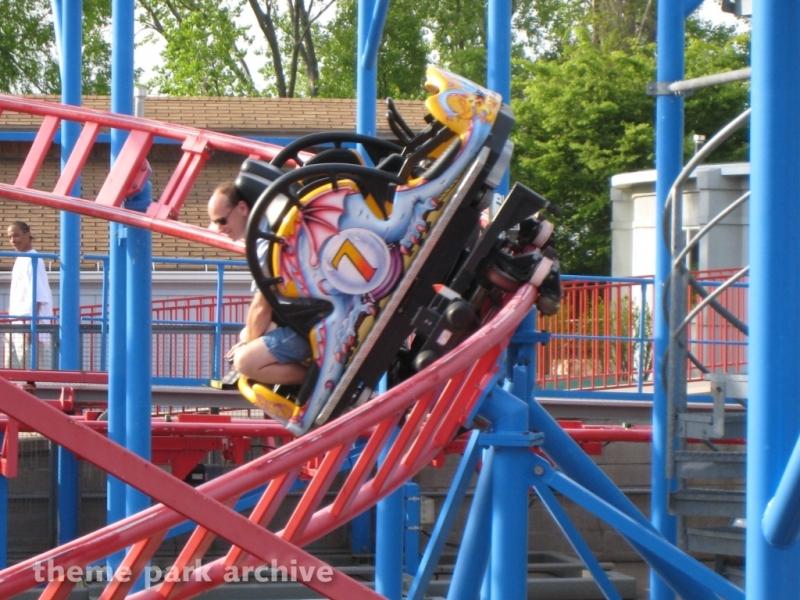 Steel Dragon at Waldameer Park