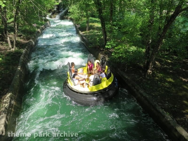 Raging River at Adventureland