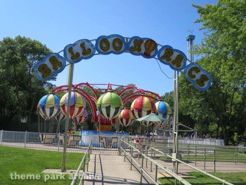 Balloon Race at Adventureland