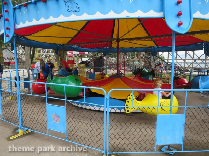 Freddie the Fish at Arnolds Park