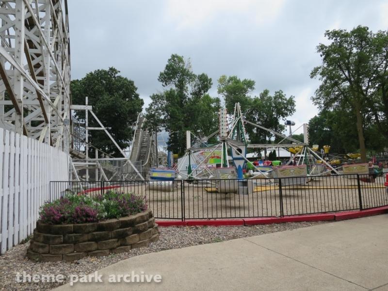 Scrambler at Arnolds Park