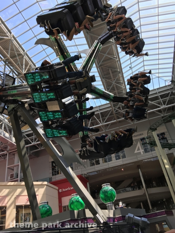 Shredder's Mutant Masher at Nickelodeon Universe at Mall of America
