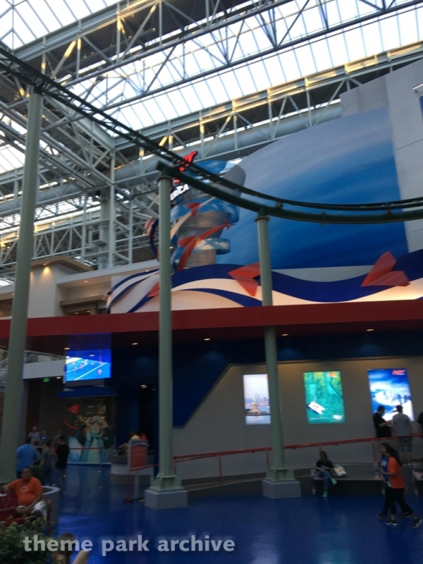 Fly Over America at Nickelodeon Universe at Mall of America