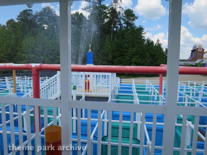 Mist ical Maze at Alabama Splash Adventure
