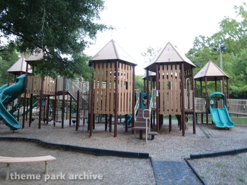 Runaround Playground at Lake Winnepesaukah