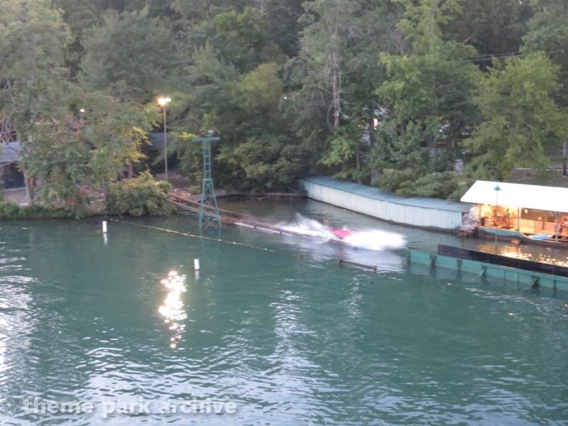 Boat Chute at Lake Winnepesaukah