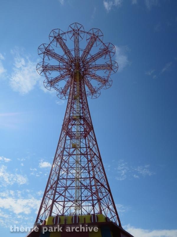 Parachute Drop at Luna Park at Coney Island