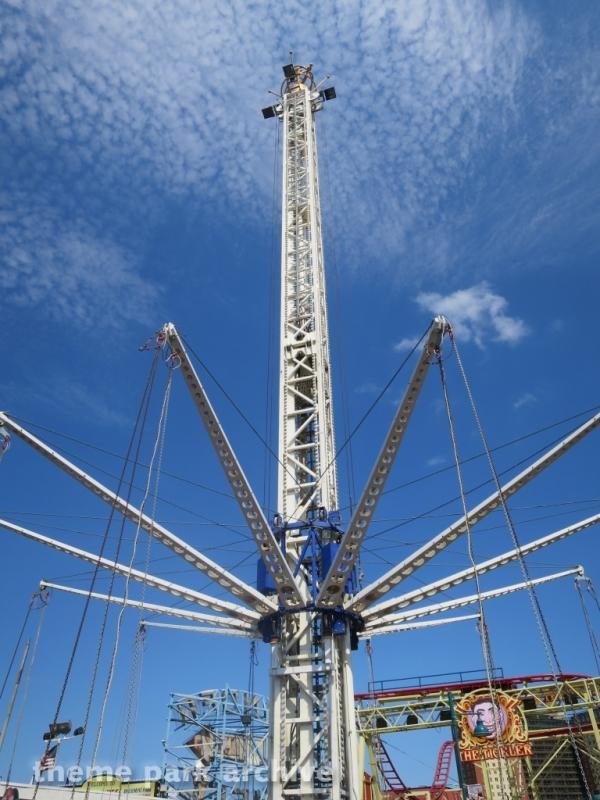 Coney Island Hang Glider at Luna Park at Coney Island