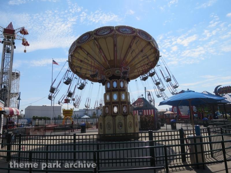 Lynn's Trapeeze at Luna Park at Coney Island