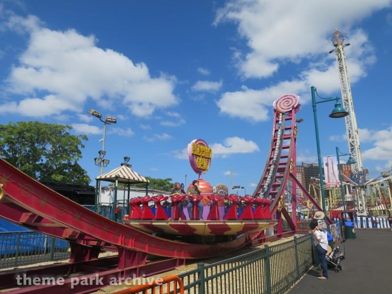Electro Spin at Luna Park at Coney Island