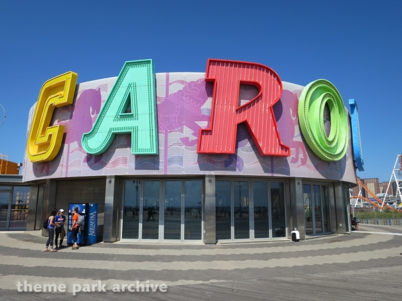 Carousel at Luna Park at Coney Island
