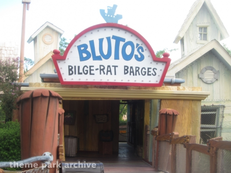 Popeye & Bluto Bilge Rat Barges at Universal Islands of Adventure