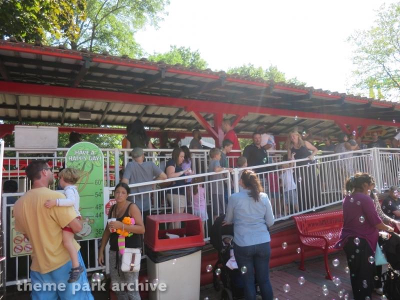 Lady Bug Coaster at Adventureland NY