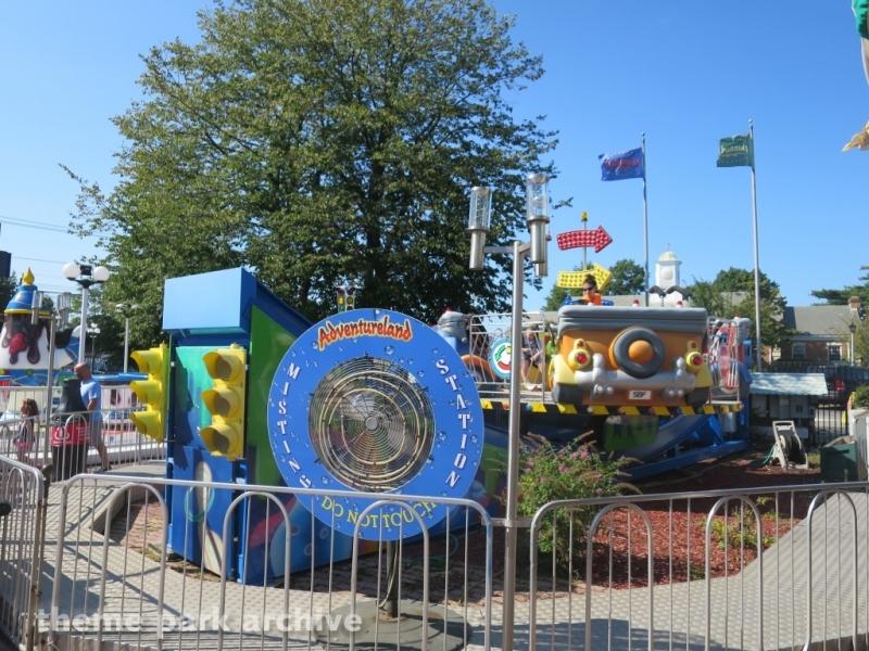 Spinning Cars at Adventureland NY