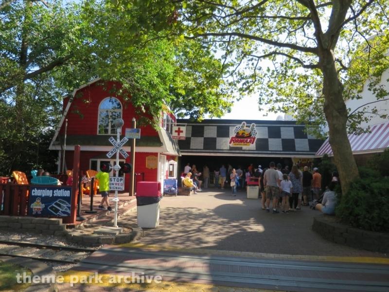 Formula 1 Bumper Cars at Adventureland NY