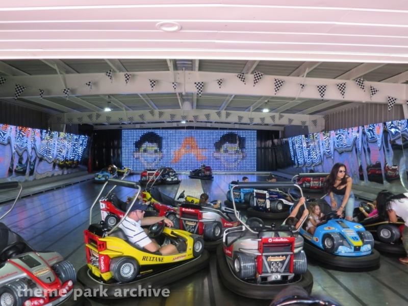 Formula 1 Bumper Cars at Adventureland NY