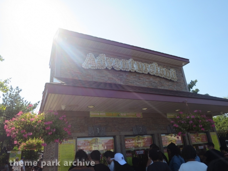 Entrance at Adventureland NY