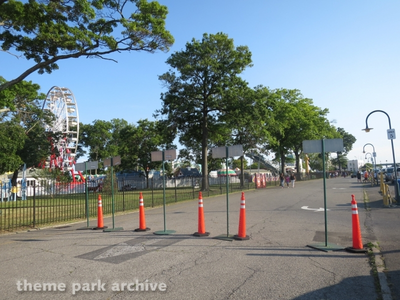 Parking at Rye Playland