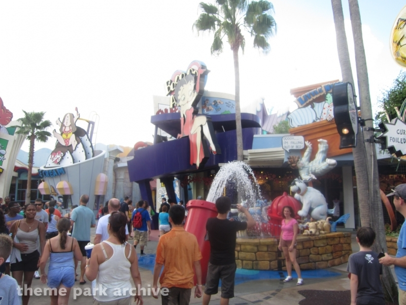 Toon Lagoon at Universal Islands of Adventure