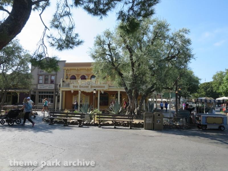 The Golden Horseshoe at Disneyland