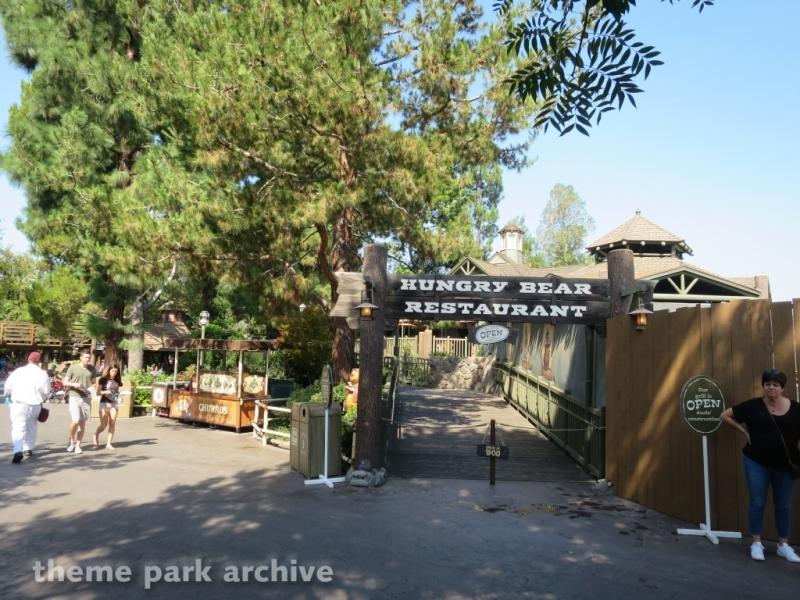 Hungry Bear Restaurant at Disneyland