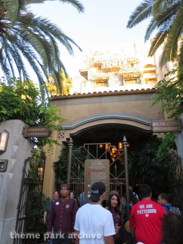 Tower of Terror at Disney California Adventure
