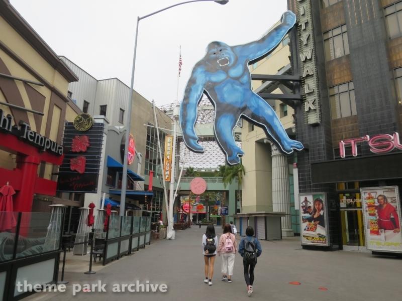 Entrance at Universal Studios Hollywood