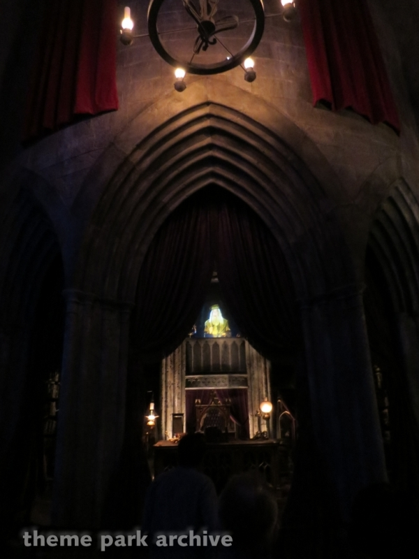Harry Potter and the Forbidden Journey at Universal Studios Hollywood