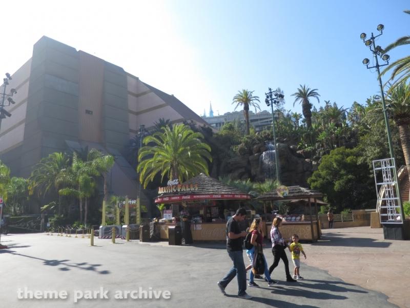 Jurassic Park The Ride at Universal Studios Hollywood