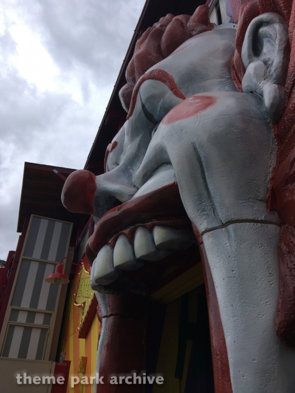 The Joker at Six Flags Discovery Kingdom