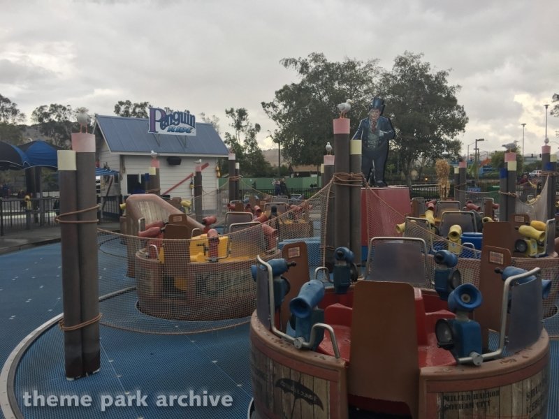 The Penguin Ride at Six Flags Discovery Kingdom