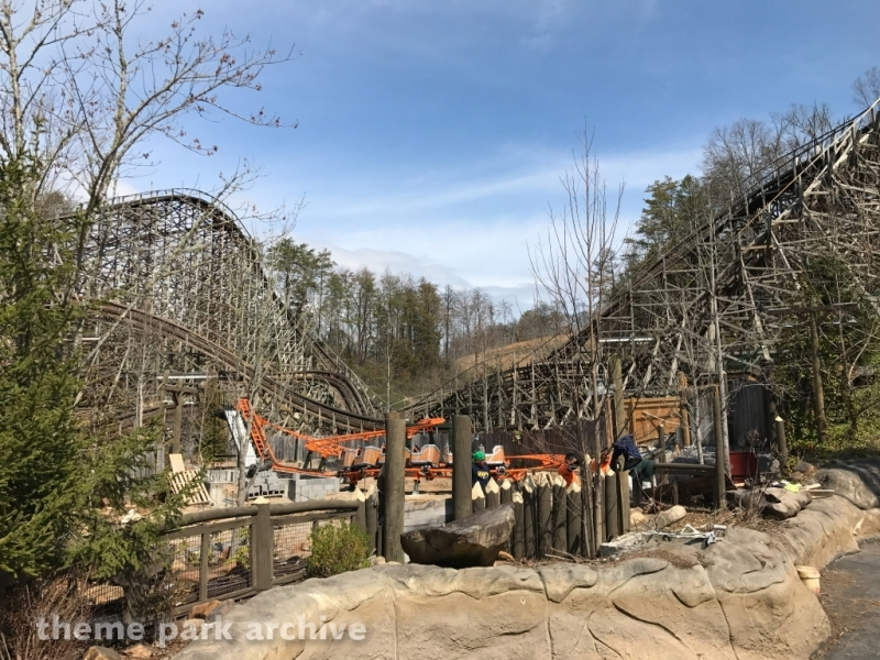 Whistle Punk Chaser at Dollywood