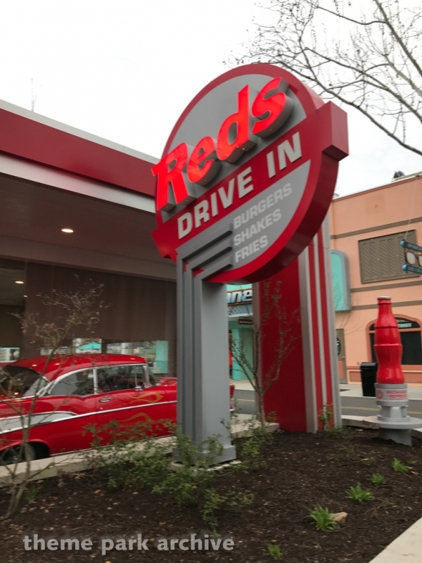 Red's Drive In at Dollywood