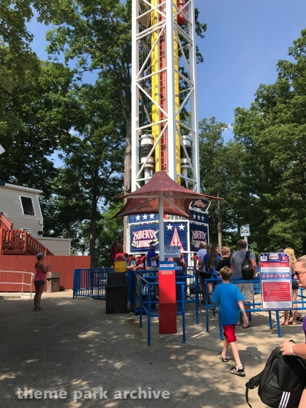 Liberty Launch at Holiday World
