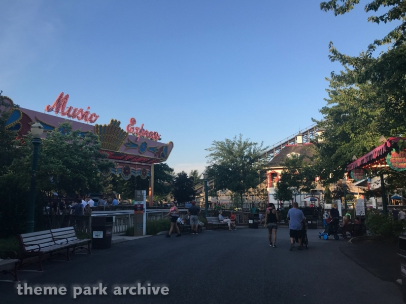 Music Express at Hersheypark