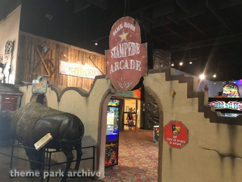 Stampede Arcade at Adventure Park USA