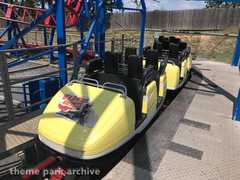 Wild West Express at Adventure Park USA