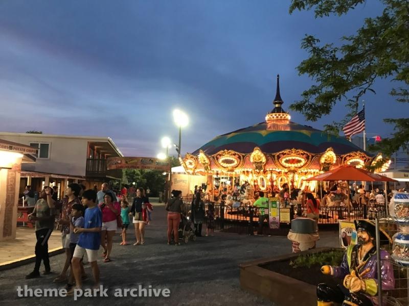 Carousel at Jolly Roger 30th Street Amusement Park