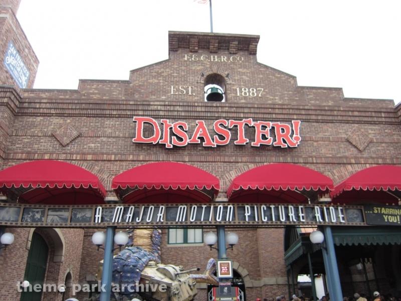 Disaster! at Universal Studios Florida