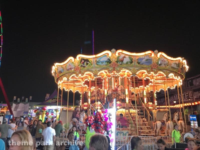 Double Decker Venetian Carousel at Jolly Roger at the Pier Amusements