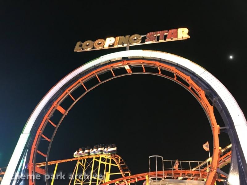 Looping Star at Jolly Roger at the Pier Amusements