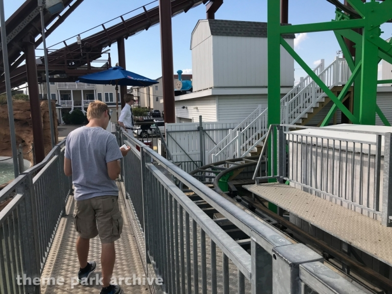 Runaway Train Roller Coaster at Gillian's Wonderland Pier