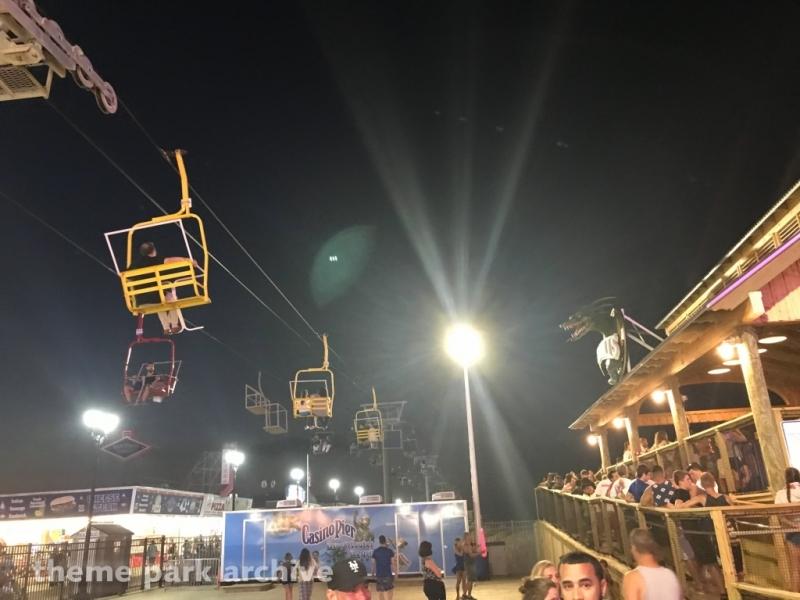 Sky Ride at Casino Pier