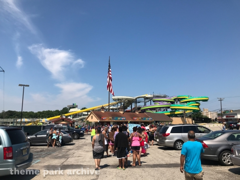 Entrance at Clementon Park & Splash World