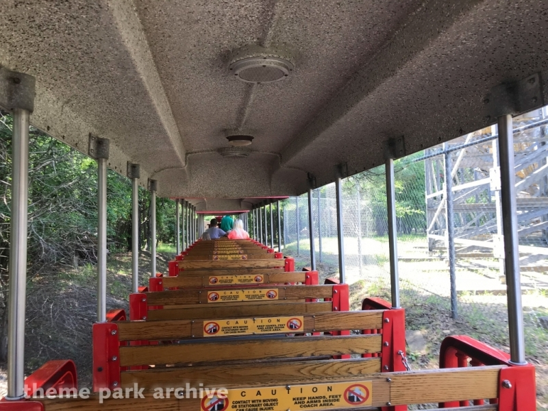 Victorian Railway at Clementon Park & Splash World