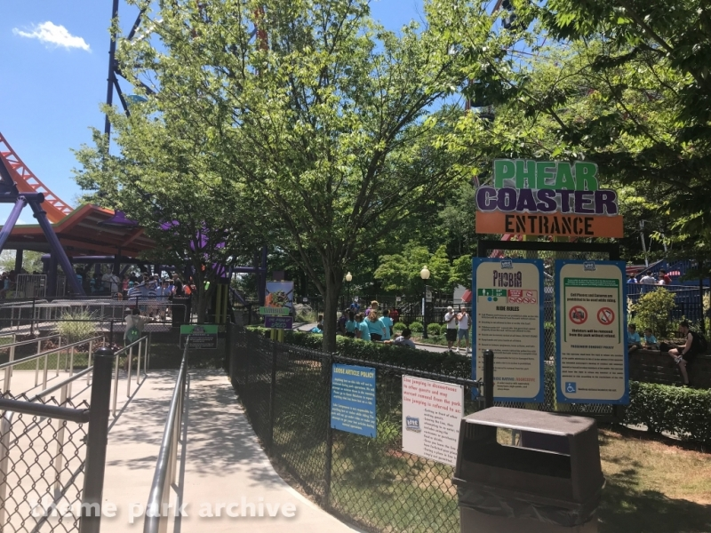 Phobia Phear Coaster at Lake Compounce