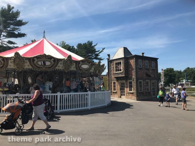 Carousel at Edaville Family Amusement Park