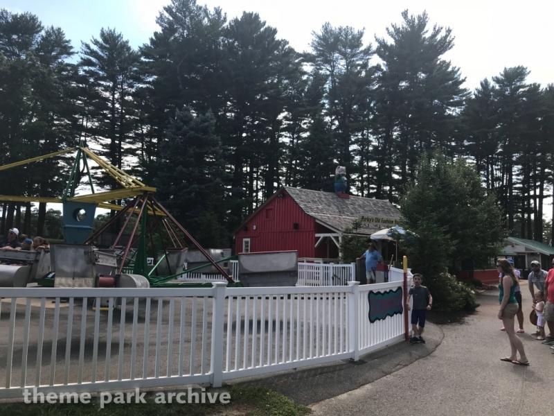 Scrambler at Edaville Family Amusement Park