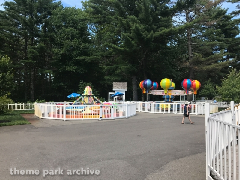 Jet About Ride at Edaville Family Amusement Park