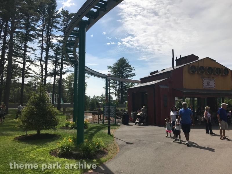 Winston's Skyline Express at Edaville Family Amusement Park